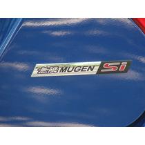 Emblema Honda Mugen Si Civic Modelo Raríssimo !!!