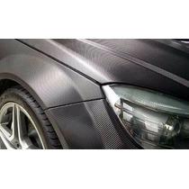 Fibra De Carbono 5mts X 1m Carro Tuning Teto Moldavel Preto