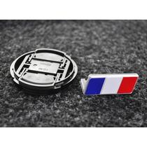 Emblema Metal França Grade - Peugeot Citroen Renault