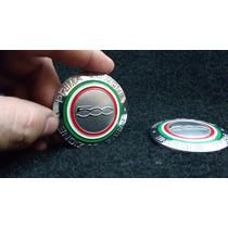 Emblema Badge Em Metal Fiat 500 Prima Edizione Alta Qualidad