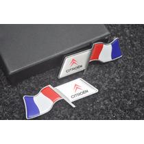 Emblema Laterais França - Citroen Ds3 Ds4 C3 C4 C5 Ds5