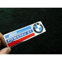 Emblema Metal Powered By Bmw Motorsport Alta Qualidade!!!