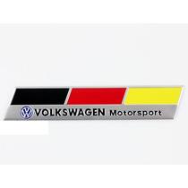 Emblema Volkswagen Motorsport - Vw Jetta Golf Gol Fox Fusca!