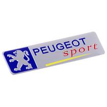 Emblema Peugeot Sport 208 308 3008 307 407 Aluminio Alloy