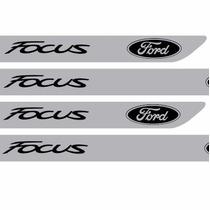 Adesivo Protetor Soleira Porta Carro Ford Focus M6 Esportivo
