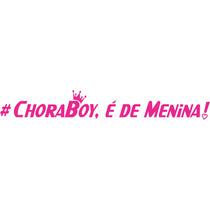 Adesivo Carro Rebaixado # Choraboy É De Menina Fixa Ar Rosca