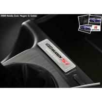 Emblema Honda Limited Edition Civic Si Mugen Modelo Raro !!!