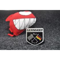 Emblema Vw Germany Jetta Golf Amarok Gol Fox Tsi Gti !!