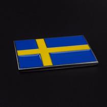 Emblema Badge Em Metal Suecia Alta Qualidade !!!