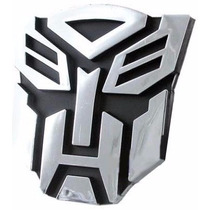 Emblema Adesivo Transformers Autobot Pvc Frete Único