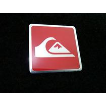 Emblema Badge Em Metal - Quiksilver Alta Qualidade !!!