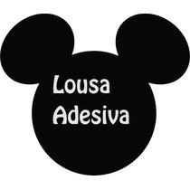 Lousa Adesiva Decorativa Do Mickeypara Parede, Geladeira ...