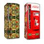 Kit Skin Adesivo Envelopamento Geladeira + De 250 Modelos