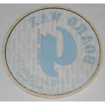 Board Wax Griffe Jordan Adesivo P/vidro Anos80 13cmdiâm Surf