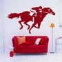 Adesivo Decorativo Cavalo De Corrida - Tamanho Pequeno