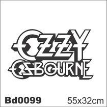 Adesivo Bd0099 Ozzy Osbourne Rock Decoração Parede