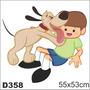 Adesivo Decorativo D358 -melhor Amigo Cão Galinha Pintadinha