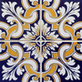 Adesivo Imitando Azulejo Decorativo - 15 X 15 Cm / 01 Dúzia