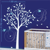 Adesivos,decorativo,infantil,arvore Papel Parede Frete Grat