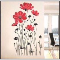 Adesivo Decorativo Parede - Rosas Gigantes - Sala - Quarto
