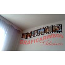 Adesivo Retro Rolo Filme Decorativo De Parede