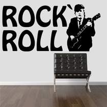 Adesivo Decorativo Parede Ac/dc Rock N Roll Angus Young