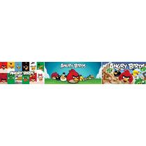 Adesivo Bdfx9007 Faixa Angry Birds Decorativa Quarto Do Bebê