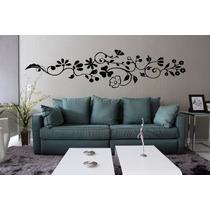 Adesivo Decorativo Parede Sala Quarto Floral Grande Galho