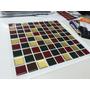Pastilhas Adesivas Resinadas - Mosaicos - 30cm X 30cm -facil