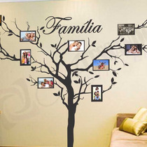 Adesivo - Novidades - Arvores - Porta Retrato - Sua Familia