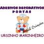 Adesivo Decorativo Para Portas Ursinho Marinheiro