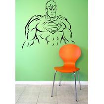 Adesivo Decorativo Parede Infantil Quarto Super Homem
