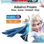 Adesivo123 Frozen Disney Infantil Anna Elsa De Parede Quarto