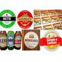 Rótulos De Cerveja Personalizados 100 Unidades