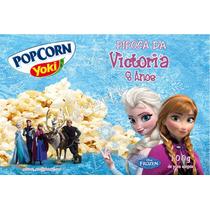 10 Rótulos Pipoca Microondas - Frozen - Adriarts