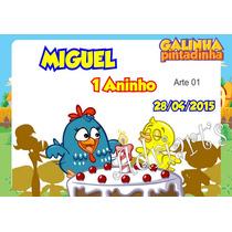 50 Tags Personalizadas Galinha Pintadinha - Adriarts