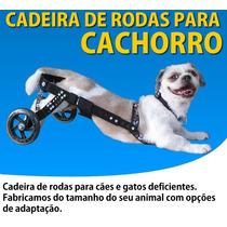 Cadeira De Rodas Para Cachorro Cão Médio Somos Fabrica Em Sp