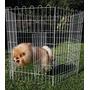 Cerca Cercadinho Com Porta Cães Pet Shop 60x100cm 8 Peças