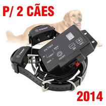 Cerca Eletrônica Invisível Para Cães C/ Coleira Recarregável