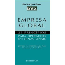 Empresa Global - 25 Princípios Para Operações Internacionais