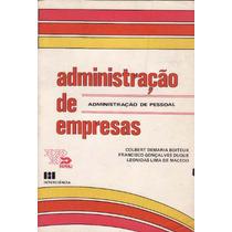 Livro Administração De Empresas - Administração De Pessoal