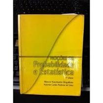 Livro Noções De Probabilidade E Estatística Marcos N.