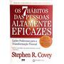 Livro - 7 Hábitos Das Pessoas Altamente Eficazes - Novo