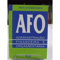 Administração Financeira E Orçamentária -