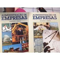 Livro Administração De Empresa - Vol 1 E 2