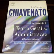 Introdução À Teoria Geral Da Administração Edição Compacta