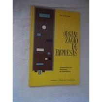 * Livro - Organização De Empresas - Administração