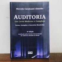 Auditoria Marcelo Cavalcanti Almeida 8ª Edição Curso Moderno