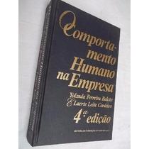 *livro - O Comportamento Humano Na Empresa Yolanda Ferreira
