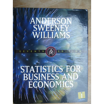 Livro - Statistics For Business And Economics - Anderson - S